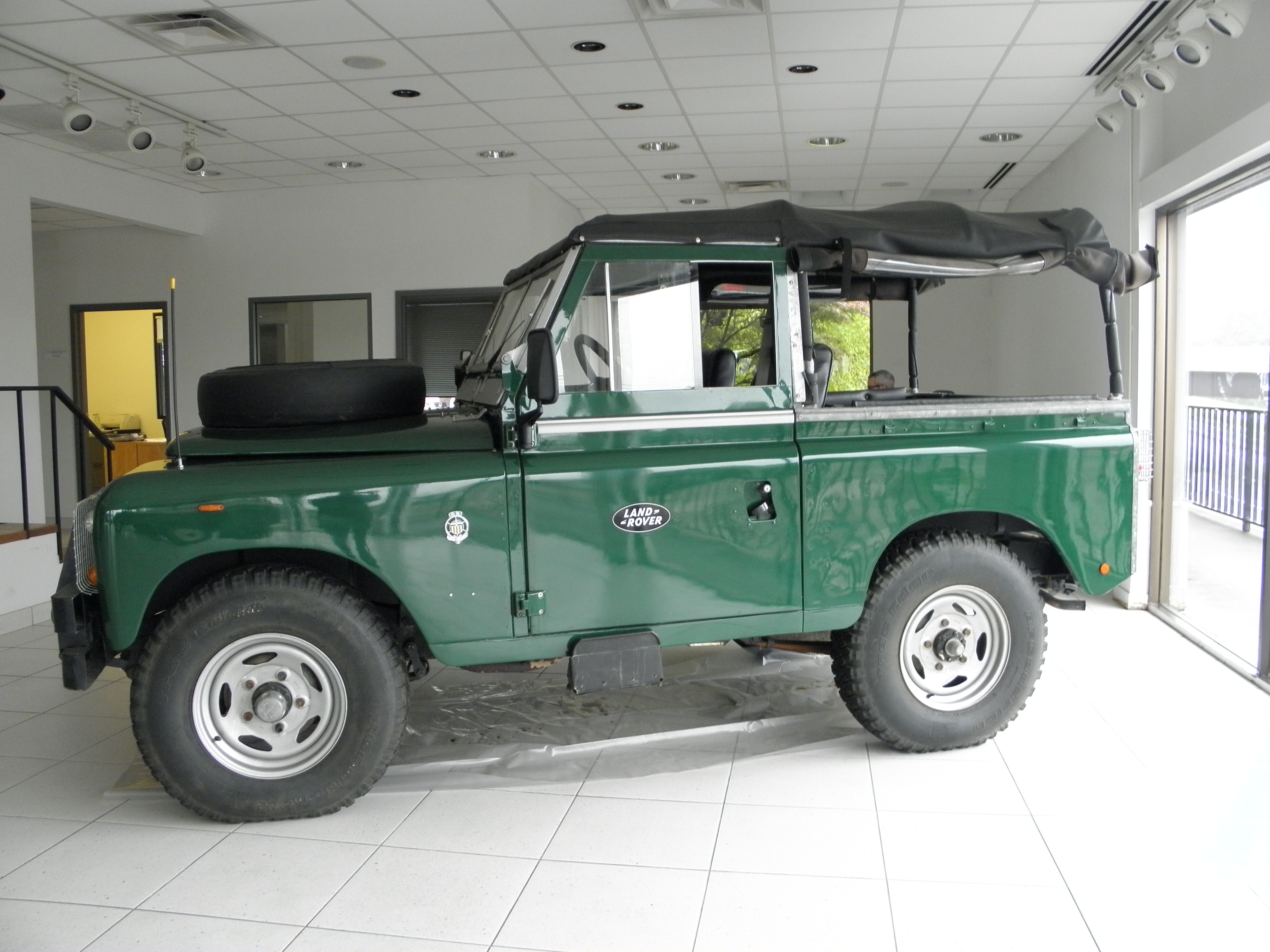 Land Rovers For Sale Rover Defender Air Conditioning Stoller Stollersideview 1961 Series 2a
